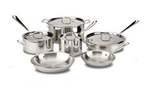 All Clad 401488R Cookware Set