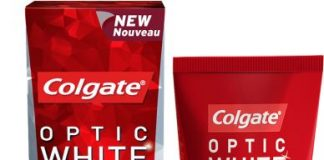 Colgate's Optic White StainLess White Toothpaste