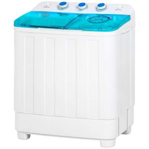Best Choice Products Portable Mini Twin Tub Compact Washing Machine