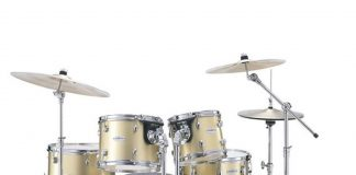 golden quality drum set